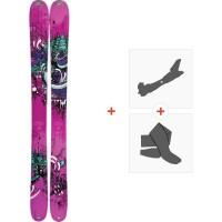 Ski K2 Missdirected 2012 + Fixations de ski randonnée + Peaux