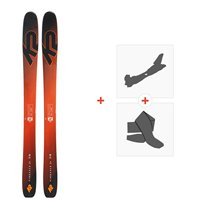 Ski K2 Pinnacle JR 2019 + Fixations de ski randonnée + Peaux10C0801.101.1