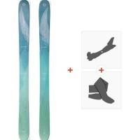 Ski Blizzard Sheeva 11 (Flat) 2018 + Fixations de ski randonnée + Peaux8A713000