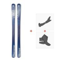Ski Blizzard Cheyenne 2016 + Fixations de ski randonnée + Peaux8A513600