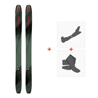 Ski Atomic Backland 117 Green/Black 2019 + Fixations de ski randonnée + PeauxAA0027208