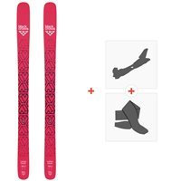 Ski Black Crows Camox Birdie 2019 + Alpine Touring Bindings + Climbing skin