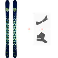 Ski Black Crows Junius 2020 + Fixations de ski randonnée + Peaux