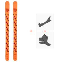 Ski Black Crows Magnis 2020 + Fixations de ski randonnée + Peaux100717