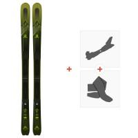 Ski Salomon T MTN Explore 88 2019 + Fixations de ski randonnée