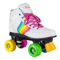 Rookie Rollerskates Forever Rainbow White 2019