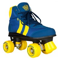 Rookie Rollerskates Retro V2.1 Blue/Yellow 2019