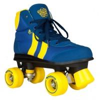 Rookie Rollerskates Retro V2.1 Blue/Yellow 2019