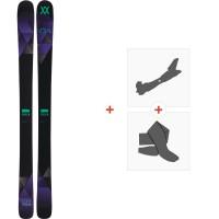 Ski Völkl Aura 2016 + Fixations de ski randonnée + Peaux