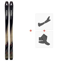 Ski Atomic Backland 85 2019 + Fixations randonnée + Peau