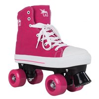 Rookie Rollerskates Canvas High Pink 2019
