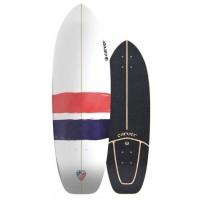 """Surf Skate Carver Thruster 32.25\\"""" C7 2019 - Deck Only26312-D"""