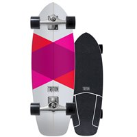 Surf Skate Triton by Carver Red Diamond 29'' 2018 - Complete