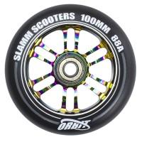 Slamm 100mm Orbit Wheels Neochrome 2019