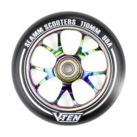 Slamm 110mm V-Ten II Wheels NeoChrome 2019