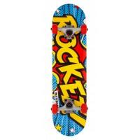 """Rocket Complete Skateboard Popart Mini 7.5"""" 2019"""