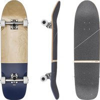 Skateboard Globe Fat Bandit 8.625'' - Color Natulral/Bruise - Complete