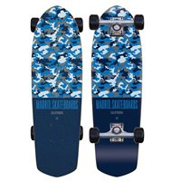 "Skateboard Madrid Picket Camo Blue 28.5"" Complete 2019"
