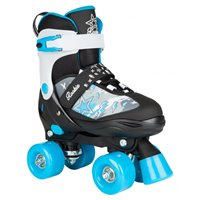 Rookie Adjustable Skate Ace Junior Black/Blue 2019