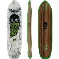 "Moonshine Outlaw White/Green 38.25"" - Deck Only 2019"