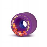 Orangatang Wheels Fat Free 65mm 83a Violet 2019