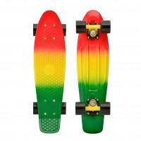 "Penny Skateboard Fades 22\\"" Rasta Black"