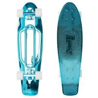 "Penny Skateboard  Blue Metallic Solid 27"" - complete 2019"