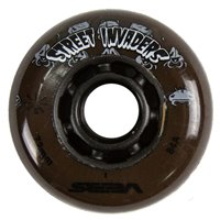 Seba Street Invader Wheels 80Mm /84A X1 Brown