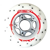 Seba Wheel Sparkling Wheels 85A Pack X4 White 2019