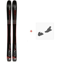 Ski Movement Icon 95 Titanal 2019 + Fixations de skiMOV-A-18013