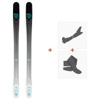Ski Black Crows Captis 2020 + Fixations de ski randonnée + Peaux101004