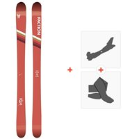 Ski Faction Candide 0.5 2020 + Fixations de ski randonnée + PeauxFCSK20-CT05-ZZ