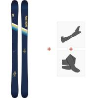 Ski Faction Candide 2.0 2020 + Fixations de ski randonnée + PeauxFCSK20-CT20-ZZ