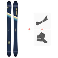 Ski Faction Candide 2.0 YTH 2020 + Fixations de ski randonnée + PeauxFCSK20-CT2Y-ZZ
