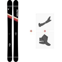 Ski Faction Candide 5.0 2020 + Fixations de ski randonnée + PeauxFCSK20-CT50-ZZ