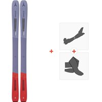 Ski Atomic Vantage WMN 97 C 2020 + Fixations de ski randonnée + PeauxAA0027748