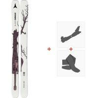 Ski Atomic Bent Chetler Mini 133-143 2020 + Fixations de ski randonnée + PeauxAA0027778