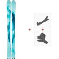 Ski Line Pandora 84 2020 + Fixations de ski randonnée + Peaux19D0019.101.1