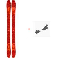 Ski Line Ruckus 2020 + Fixations de ski19D0023.101.1