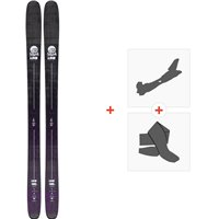 Ski Line Sick Day 114 2020 + Fixations de ski randonnée + Peaux19D0011.101.1