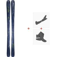 Ski Line Supernatural 86 2020 + Fixations de ski randonnée + Peaux19D0016.101.1