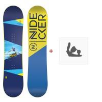 Snowboard Nidecker Micron Magic 2020 + Fixations de snowboardSN190250