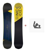 Snowboard Nidecker Micron Prosper 2020 + Fixations de snowboardSN200254