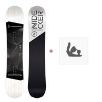 Snowboard Nidecker Micron Sensor 2020 + Fixations de snowboardSN200250