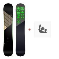 Snowboard Nidecker Play 2020 + Fixations de snowboard