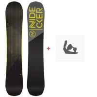 Snowboard Nidecker Score 2020 + Fixations de snowboardSN200170