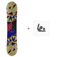 Snowboard Head Defiance Youth 2020 + Fixations de snowboard336328