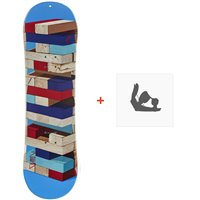Snowboard Head Rowdy Kid 2020 + Fixations de snowboard336808