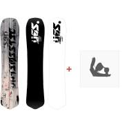 Snowboard Yes Optimistic 2020 + Fixations de snowboardSY20010