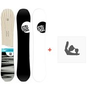 Snowboard Yes Pick Your Line 2020 + Fixations de snowboardSY200115